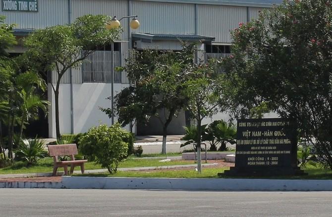 nhà máy rác Tràng Cát, Hải Phòng, xử lý rác thải, phân hữu cơ, nhà máy đắp chiếu