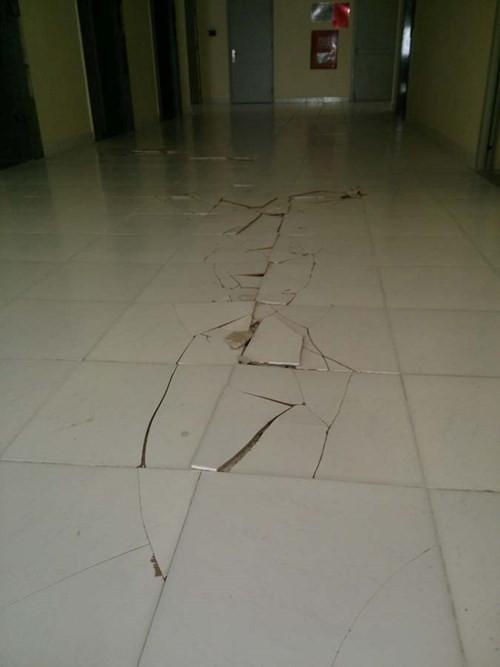 Ký túc xá 'hiện đại nhất VN' bỗng nứt toác sàn, sinh viên hoang mang - ảnh 3