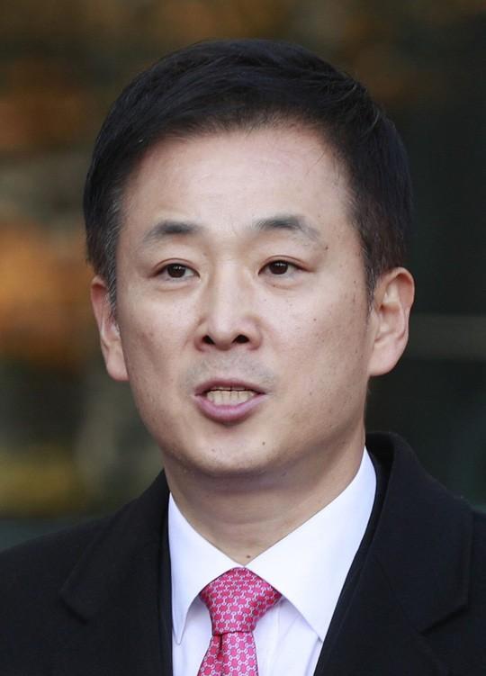 Đại diện pháp lý của Tổng thống Park, luật sư Yoo Young-ha Ảnh: REUTERS