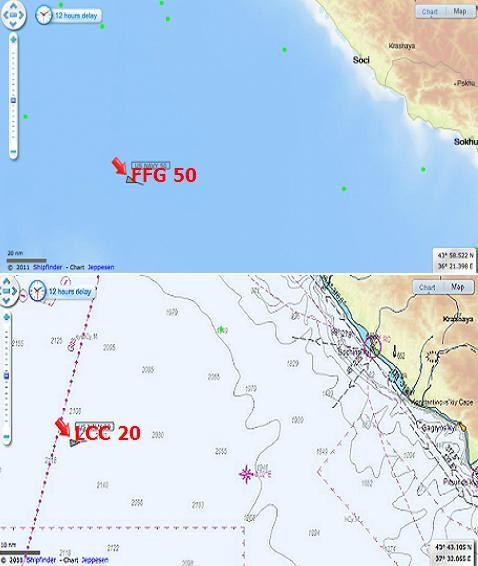 Tháng 2/2014, tàu USS Mount Whitney và USS Taylor được triển khai ở khu vực giữa biển Đen, ngang Sochi, cách Crimea chưa đầy 200km