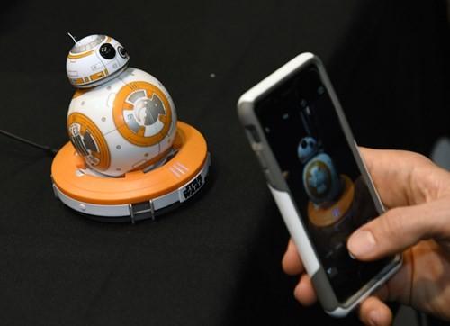 Đồ chơi robot BB-8. Ảnh: Ethan Miller/Getty Images