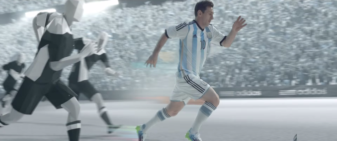 Adidas is his biggest sponsor, paying him a reported $4 million per year.