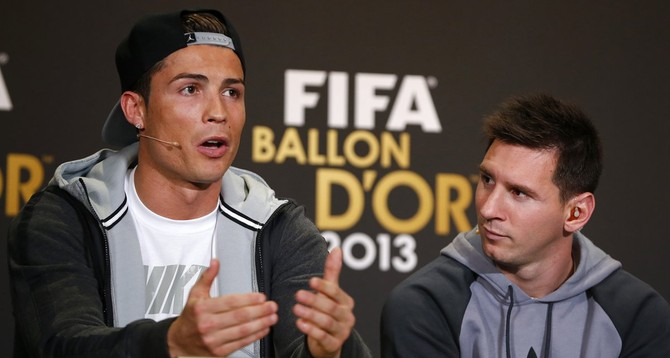 Unlike Ronaldo, his closest rival, Messi is only judged as a soccer player, not a person.