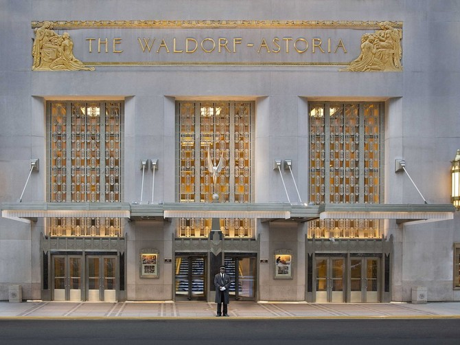 Hilton sold the Waldorf Astoria to a Chinese insurance conglomerate for $1.95 billion in October.