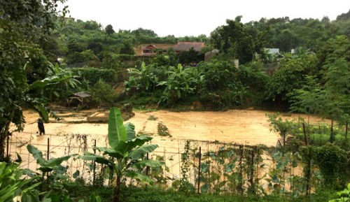 Những hình ảnh hãi hùng khi mưa lũ tấn công các tỉnh phía Bắc
