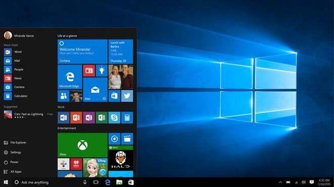Quay lại Bắt đầu: Windows 10 mang lại Start menu quen thuộc, và giới thiệu một số tính năng mới như Cortana, Microsoft Edge, và Xbox One streaming vào máy tính. Nó được thiết kế chu đáo hơn cho máy tính xách tay và máy tính bảng lai, và Microsoft đã chuyển sang Windows như là một mô hình dịch vụ để giữ cho nó được cập nhật thường xuyên trong tương lai.