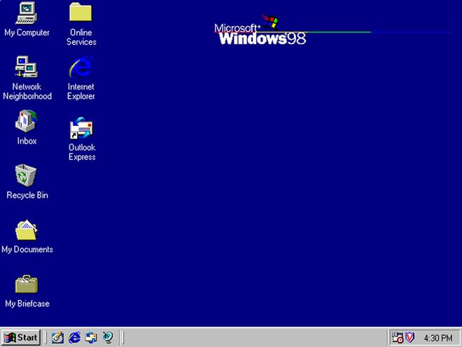 Tiếp nối thành công từ Windows 95, phiên bản kế nhiệm Windows 98 được cải tiến về hiệu suất nhờ hỗ trợ phần cứng tốt hơn. Microsoft tập trung hơn vào web và tích hợp sẵn các ứng dụng và tính năng như Active Desktop, Outlook Express, Frontpage Express, Microsoft Chat, và NetMeeting.