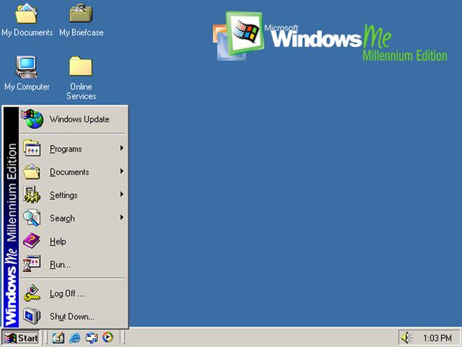 Windows ME tập trung vào đa phương tiện và người dùng gia đình. Đáng tiếc, phiên bản này hoạt động thiếu ổn định và bị lỗi. Đây cũng là phiên bản đánh dấu sự xuất hiện của trình biên tập video Windows Movie Maker, cùng với các phiên bản cập nhật của Windows Media Player và Internet Explorer.