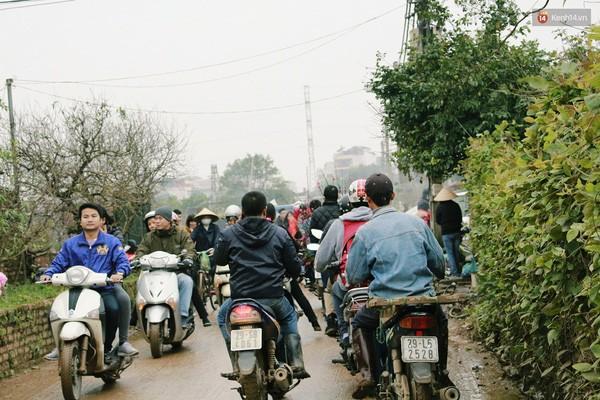 Người Hà Nội đội mưa đi chụp ảnh Tết, dịch vụ ăn theo được dịp hốt bạc - Ảnh 2.