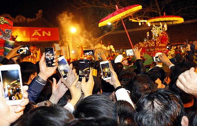 đền Trần, lễ hội đền Trần, khai ấn đền Trần