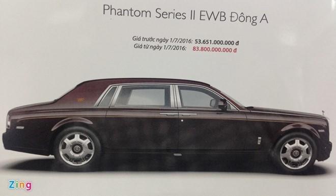Nhung chiec Rolls-Royce co gia ban ky luc o Viet Nam hinh anh 3