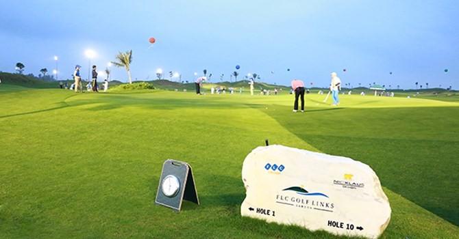 Giải Faros Golf Tournament chuẩn bị khởi tranh
