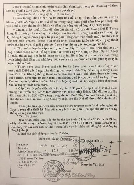 Ha Noi: Ong Nguyen Van Hai da ky nhung van ban gi lien quan vu thu hoi dat tai Me Tri? - Anh 4