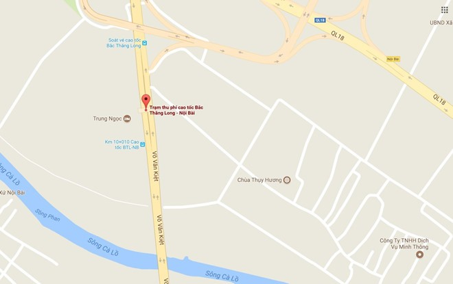 Tram thu phi Bac Thang Long - Noi Bai muon tang phi gap 3 lan hinh anh 2