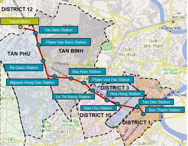 TP.HCM xin them gan 800 trieu USD lam tuyen metro so 2 hinh anh 1