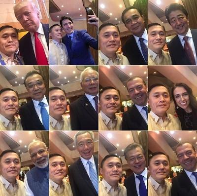 tro-ly-cua-ong-duterte-selfie-voi-cac-lanh-dao-du-hoi-nghi-asean