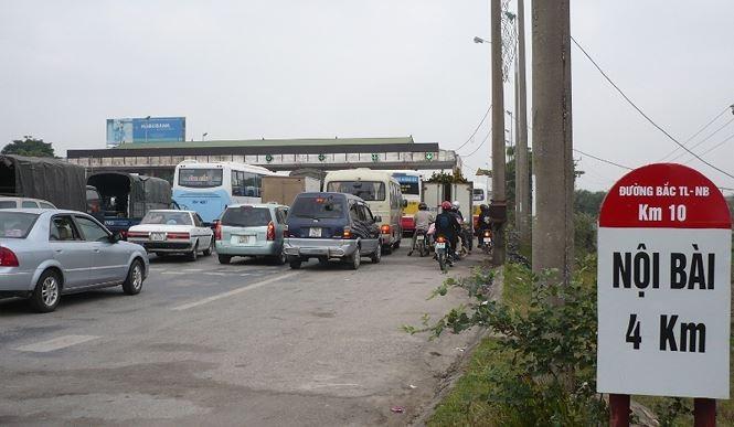 Những trạm thu phí đặt sai vị trí 'bủa vây' Hà Nội - ảnh 2