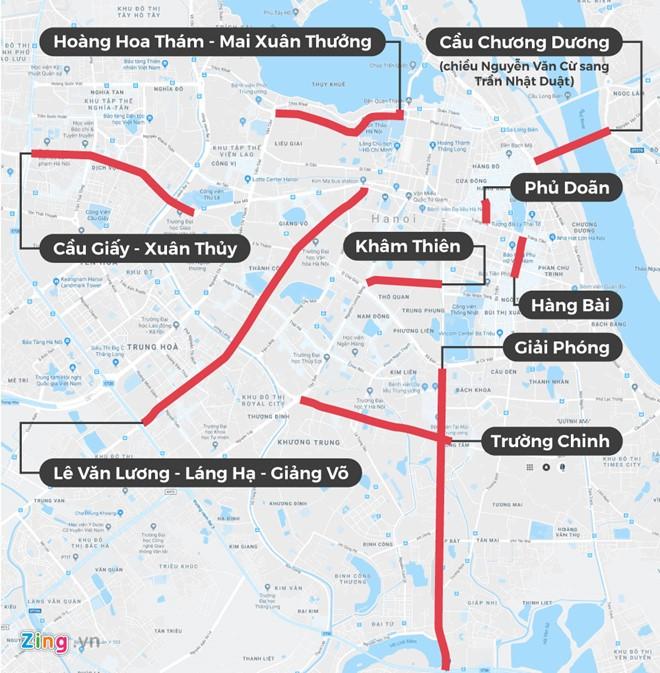 """mapcamduong_iwdx Tài xế Uber, Grab Hà Nội: """"Muốn về nhà chắc phải xé logo"""""""