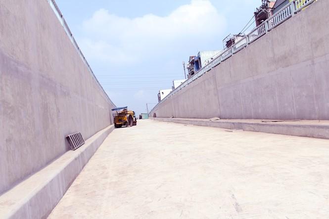 Cận cảnh hầm chui An Sương sắp hoạt động để giảm kẹt xe cửa ngõ TP.HCM - ảnh 7