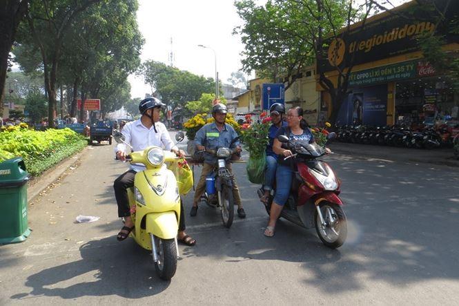 Lo bị 'ép rác', hoa tết xả hàng sớm ở Sài Gòn - ảnh 12