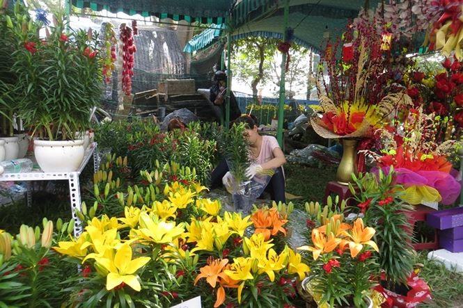 Lo bị 'ép rác', hoa tết xả hàng sớm ở Sài Gòn - ảnh 14