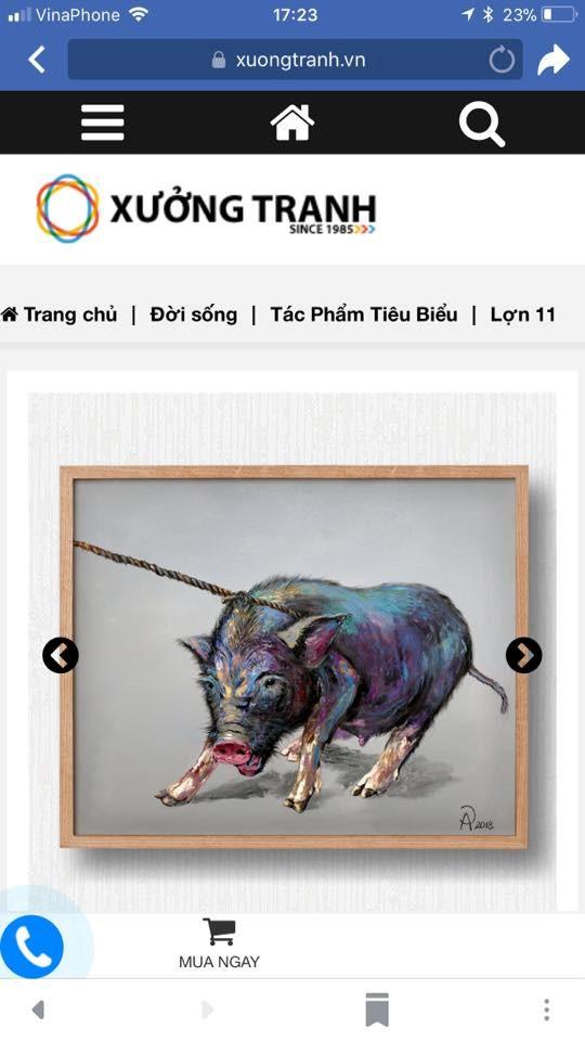 Giới họa sĩ phẫn nộ về trang web vô tư mời chào bán tranh chép - ảnh 3