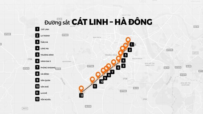 """Bác tin đường sắt Cát Linh - Hà Đông """"vỡ"""" tiến độ đến 2021"""
