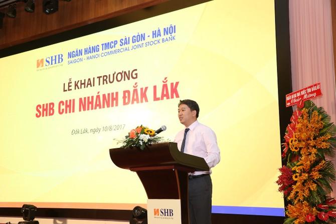Ông Nguyễn Hải Ninh -  Ủy viên dự khuyết TW Đảng, Phó chủ tịch Thường trực UBND tỉnh Đắk Lắk