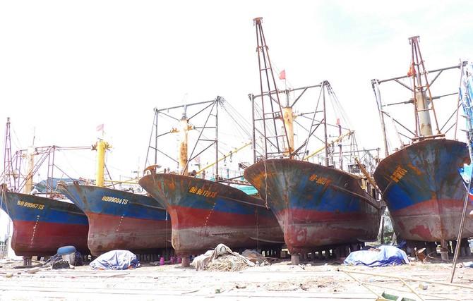 Phải đền bù cho ngư dân có tàu vỏ thép hỏng - ảnh 1