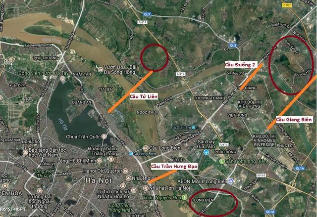 Bộ trưởng Trần Hồng Hà: Giá đất sẽ tăng cấp số nhân tại khu vực 4 cây cầu mới gần 2 tỷ USD sắp xây tại Hà Nội - Ảnh 1.