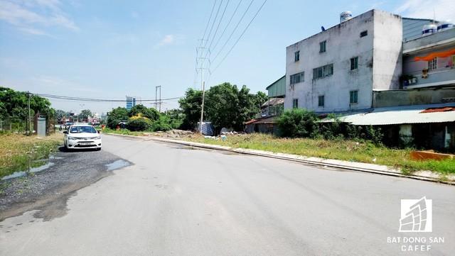 Một số tuyến đường nội khu đã được xây dựng nhưng không có điện đường nên ban đêm cả khu vực này không ai dám đến