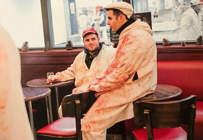 Chợ đầu mối khổng lồ ở Paris