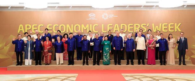 Khoảnh khắc đáng nhớ của các nguyên thủ thế giới bên lề APEC 2017 - ảnh 16