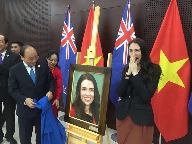 Khoảnh khắc đáng nhớ của các nguyên thủ thế giới bên lề APEC 2017 - ảnh 9