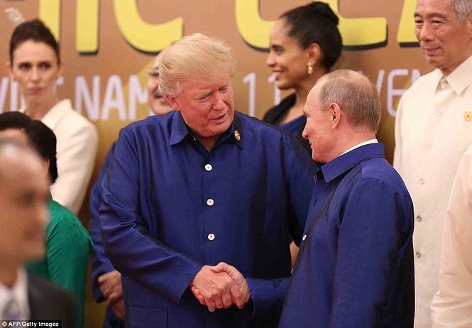 Khoảnh khắc đáng nhớ của các nguyên thủ thế giới bên lề APEC 2017 - ảnh 12