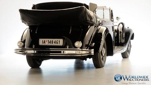 Xế Mercedes cổ chống đạn của Hitler được bán đấu giá - ảnh 2