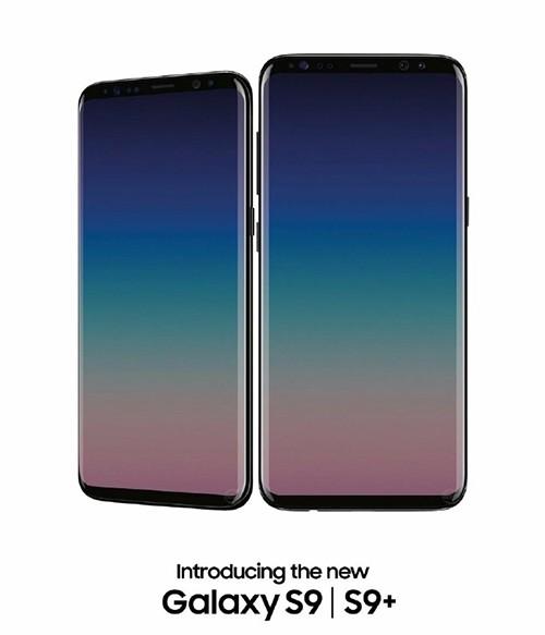 Galaxy S9+ nới rộng màn hình, không có tai thỏ như iPhone X - 1