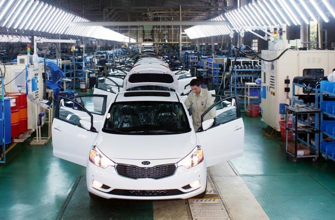 thuế tiêu thụ đặc biệt,linh kiện ô tô,lắp ráp ô tô trong nước,ô tô nhập khẩu,giá ô tô,ưu đãi thuế