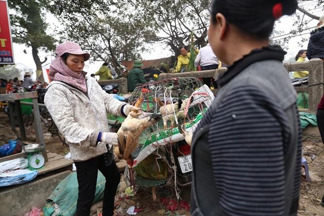 Nét quê trong phiên chợ ngoại thành Hà Nội ngày 30 Tết - ảnh 13