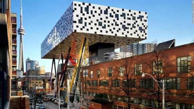 13 kiến trúc tuyệt đẹp thách thức trọng lực - Ảnh 9