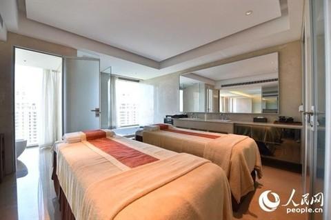 Phòng massage riêng dành cho chủ nhà.