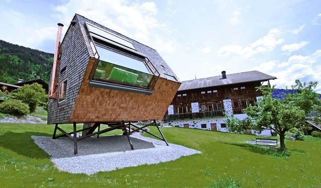 Nhà gạch độc nhất vô nhị ở Áo mang hình ngũ giác.