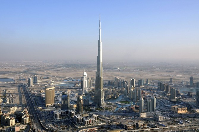 Burj-Khalifa, the tallest building on Earth