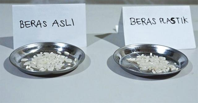 Gạo giả làm từ nhựa độc: Trung Quốc và Indonesia tranh cãi