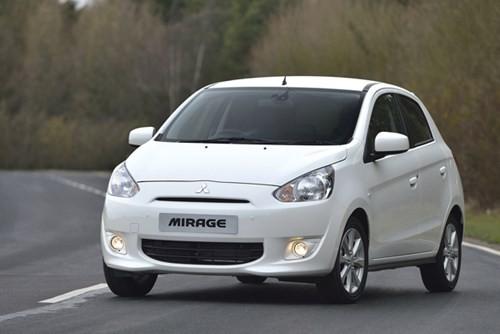Mitsubishi Mirage doanhnhansaigon