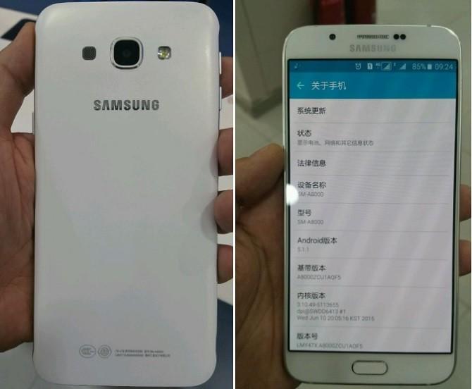 Lộ diện hình ảnh Samsung Galaxy A8 5.7 inch