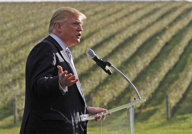 Năm 2011, Trump chi 6,2 triệu USD để mua trang trại làm rượu vang lớn nhất ở Virginia, sau khi đã bỏ 6,5 triệu USD để mua tòa dinh thự của trang trại này.