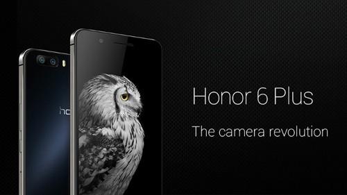 Honor 6 Plus sử dụng hai camera cùng có độ phân giải cao, độ mở ống kính lớn.