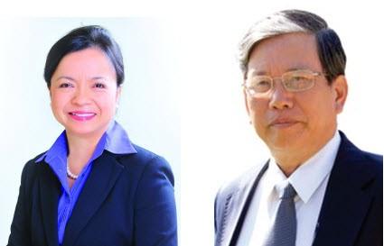 Bà Nguyễn Thị Mai Thanh và ông Đỗ Văn Trắc
