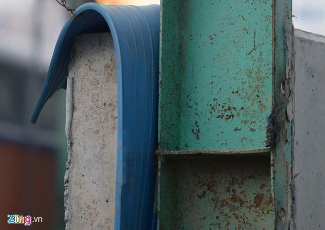 Hệ thống chống thấm tiên tiến với tấm băng cản nước lớn màu xanh